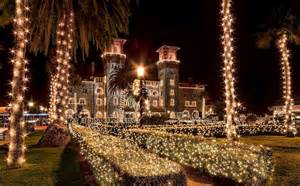 st augustine lights you ll find a winter at st augustine s nights
