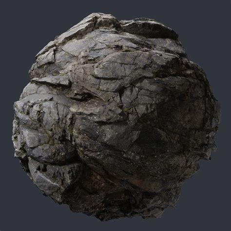 scanned cliff rock  meters