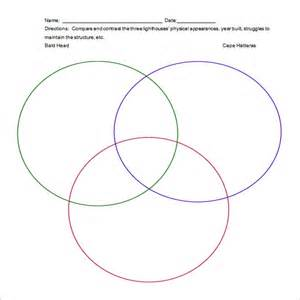 Venn Template by Venn Diagram With Lines Template Printable Venn Wiring