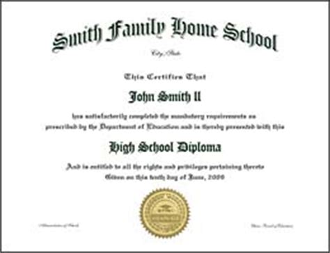 home school diplomas diploma replacements