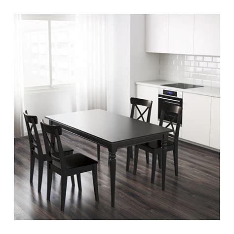 ikea ingatorp ingatorp extendable table black 155 215x87 cm ikea