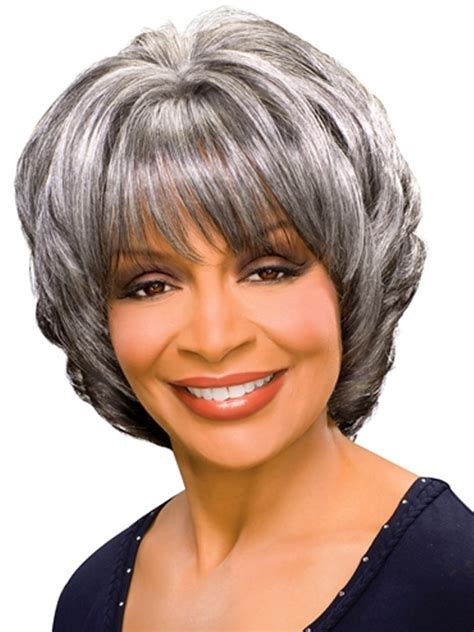 silver fox wigs for women over 50 margaret synthetic wig by foxy silver wigs hsw wigs