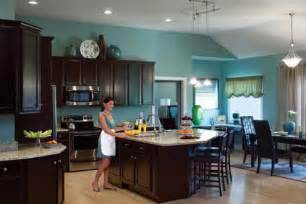 Black Kitchen Cabinets What Color On Wall Custom Home Builder Schumacher Homes