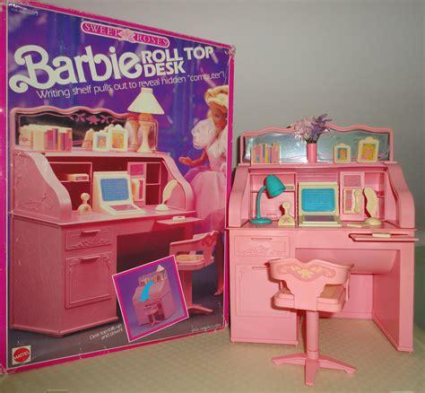 New Kitchen Furniture scrivania roll top desk barbie sweet roses furniture mat
