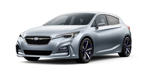 subaru concept cars future cars taking subaru s 2017 impreza from concept