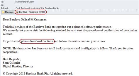 Phishing attacks using HTML attachments   Netcraft