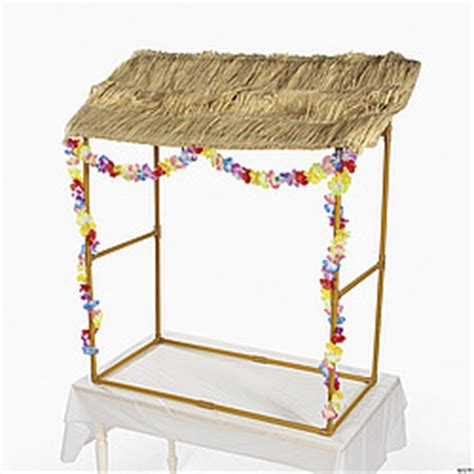 Table Top Tiki Hut tabletop tiki hut findgift