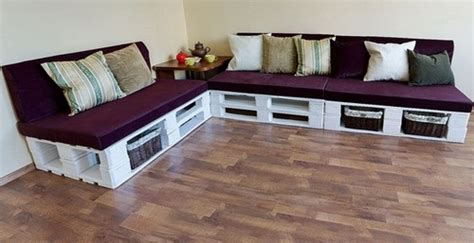corner sofa made from pallets pallet furniture in interior design 20 ideas home