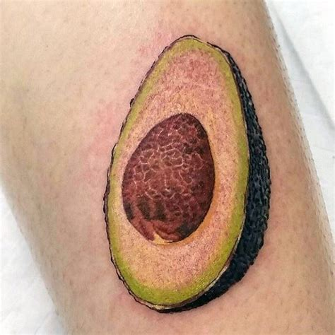 avocado tattoo meaning 60 avocado designs for fruit ink ideas