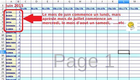An 5 Calendrier Républicain Libre Office Calc J Aimerais Un Planning Mensuel Perp 233 Tuel