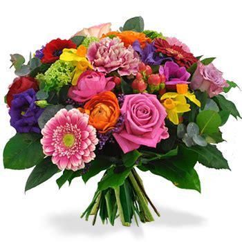 bosje bloemen plaatjes feestelijk boeket 187 bosbloemenbezorgen nl