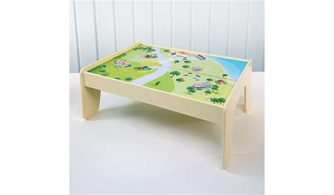 to play at the table george home wooden play table george at asda