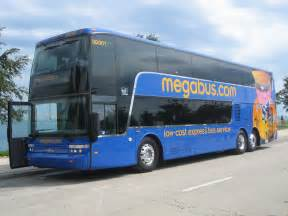 megabus decker getting comfortable being uncomfortable