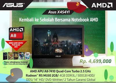Laptop Asus X454y harga dan spesifikasi laptop asus x454y amd a8