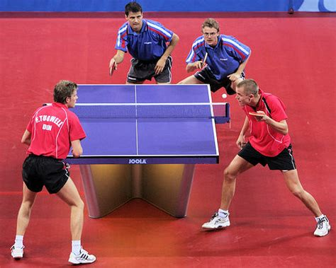 Table Tennis Doubles Explained