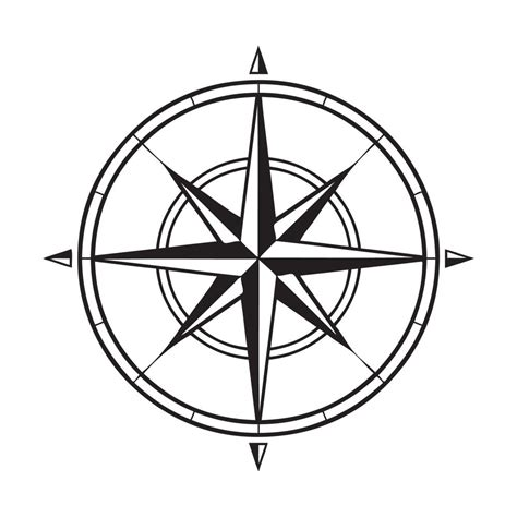 picture of compass clipart best my favorite things too