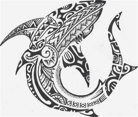 tribal shark tattoos meaning maori shark tattoos search ta