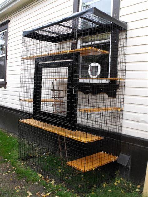 Creative Backyard Playground Ideas 13 Cool Catios For Your Feline Friend Brit Co