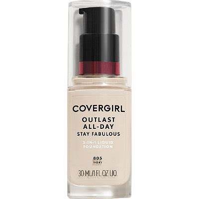 Covergirl Outlast Foundation outlast stay fabulous 3 in 1 foundation ulta