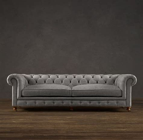 restoration hardware kensington sofa my next couch 98 quot kensington upholstered sofa in