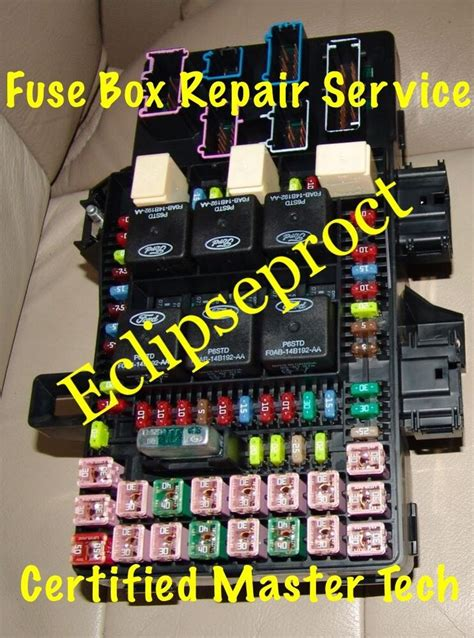 ford expeditionnavigator fuse box repair
