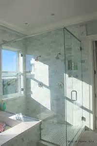 shower window transitional bathroom stay at homeista