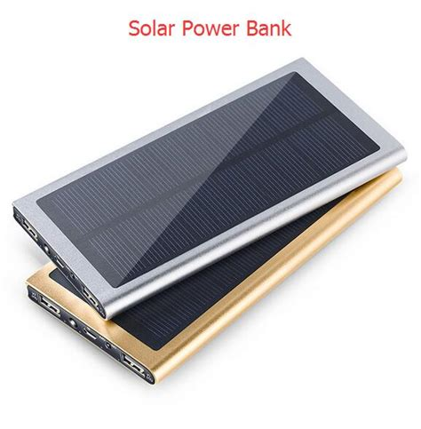 Power Bank Solar Samsung solar powerbank 50000mah power bank portable 2 usb solar charger for iphone samsung sony pk