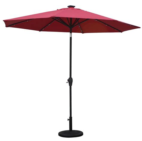 patio umbrella with lights led outdoor led umbrella with usb buy patio led umbrellas