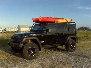 Canoe On Jeep Wrangler Jeep Wrangler Kayak Soft Top Car Interior Design