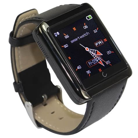 Smart U10smart Gt08 Black u10 smartwatch for ios iphone and android smartphones tablet black elevenia