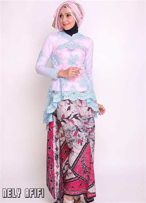 pin kebaya modern festivals in http nelyafifi com jahit kebaya modern batik tile pink