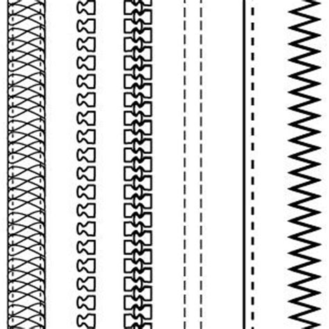 pattern unlock zip free adobe illustrator fashion brushes zippers