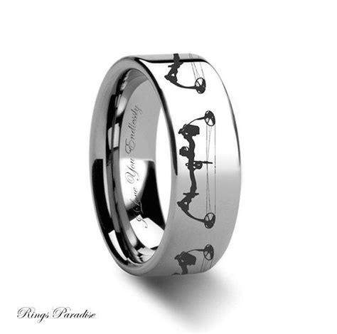tungsten wedding band mens tungsten ring unique