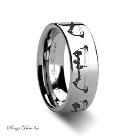tungsten wedding band mens tungsten ring unique promise