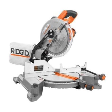 ridgid 15 10 in compound miter saw r4110 the home depot