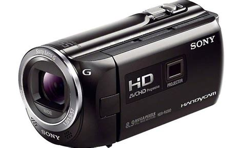 Handycam Sony Projector Pj380 sony handycam 174 hdr pj380 high definition projection camcorder with 16gb flash memory at