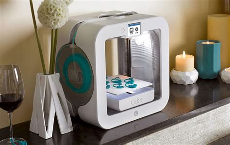 cube 3d printer gen3 white promo