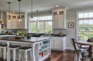 Kitchen Island And Stools country farmhouse farmhouse kitchen other by