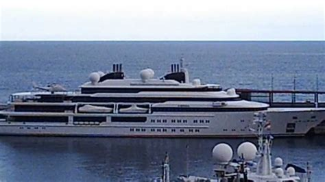 qatar jacht 408 ft katara yacht emir of qatar port of monaco youtube