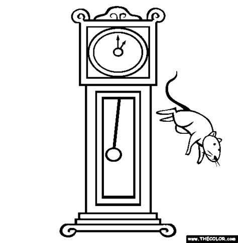 hickory dickory dock activities nursery rhymes for primary