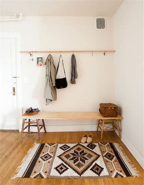diy hall bench 15 diy entryway bench projects decorating your small space
