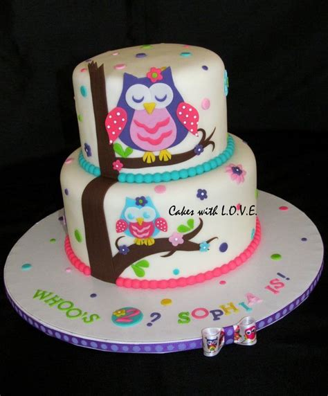 images  baby shower owls  pinterest owl cakes owl parties  owl cupcakes