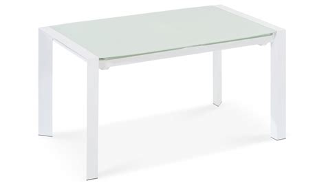 Alton Extending Modern Dining Table With White Glass Top White Desk With Glass Top