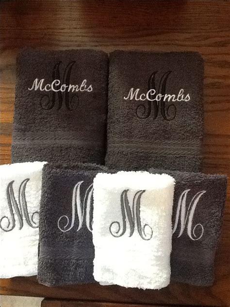 fancy name for bathroom best 25 monogram towels ideas on pinterest monograms