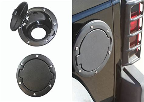 Jeep Wrangler Gas Cap Cover 2007 2015 07 15 Jeep Wrangler Jk And Jk Unlimited Black