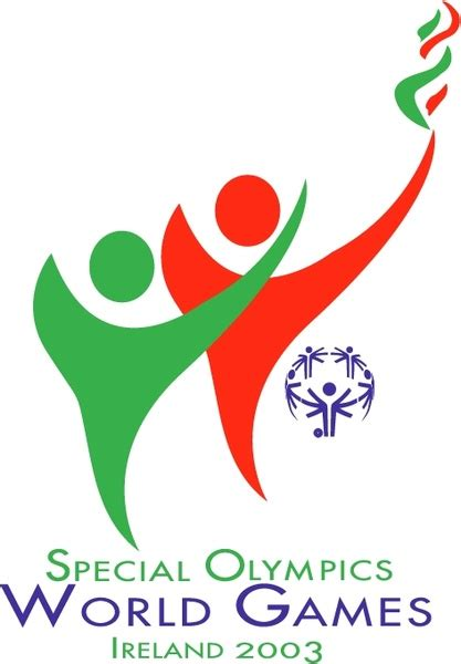 special olympics world special olympics world ireland 2003 free vector in
