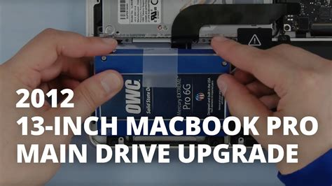 drive upgrade how to upgrade the hard drive or ssd in a 13 inch macbook