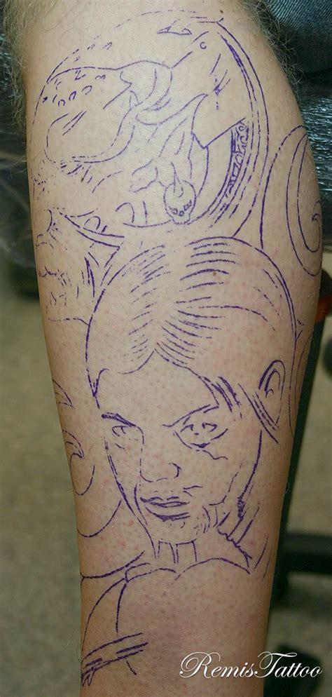 black and grey demon tattoos remistattoo com gallery tattoo gallery black and