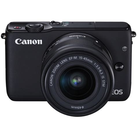 canon eos m10 15 45mm is stm kit black mirrorless cameras photopoint
