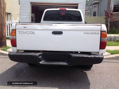 2 Door Toyota Tacoma 2001 Toyota Tacoma Dlx Standard Cab 2 Door 2 4l